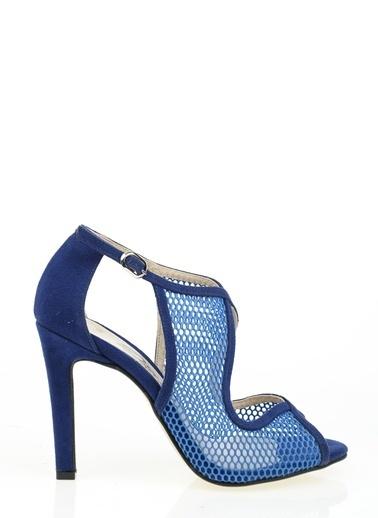Derigo Topuklu Ayakkabı Saks
